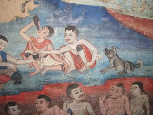 Chiang Mai Temple Painting