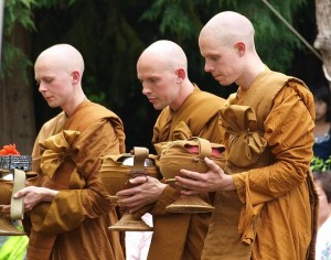 Bhikkhu Ordination at Chithurst Monastery, UK