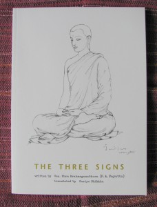 Cover to the Three Signs