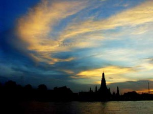 Dusk at Wat Arun, Bangkok
